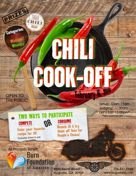 Annual Chili Cook-Off