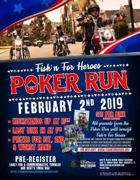 Fish'n For Heroes Poker Run