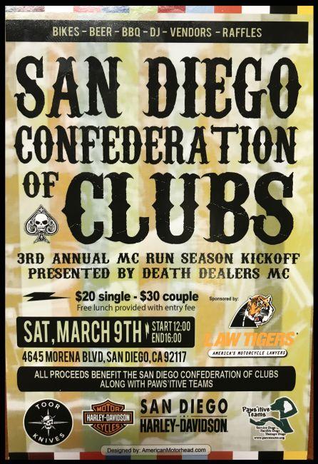 San Diego Confederation of Clubs Season Kick Off