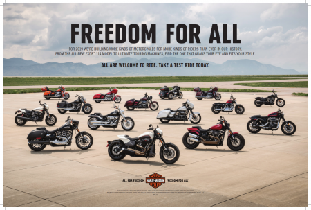 TAKE A TEST RIDE AT TUSKER HARLEY-DAVIDSON