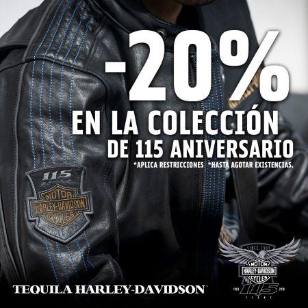 -20% DE DESCUENTO EN LA COLECCIÓN DEL 115 ANIVERSARIO.