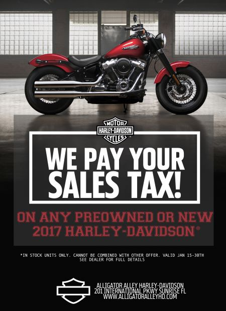 We'll Pay your Sales Tax!