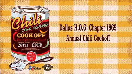 Annual Dallas HOG Chili Cookoff