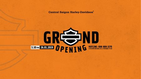 CENTRAL SAIGON HARLEY-DAVIDSON - GRAND OPENING
