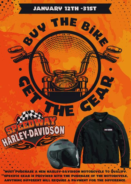 Buy the Bike Get the Gear