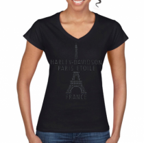 T-shirt - Tour Eiffel Strass