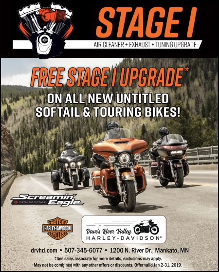 Free Stage 1 Upgrade!