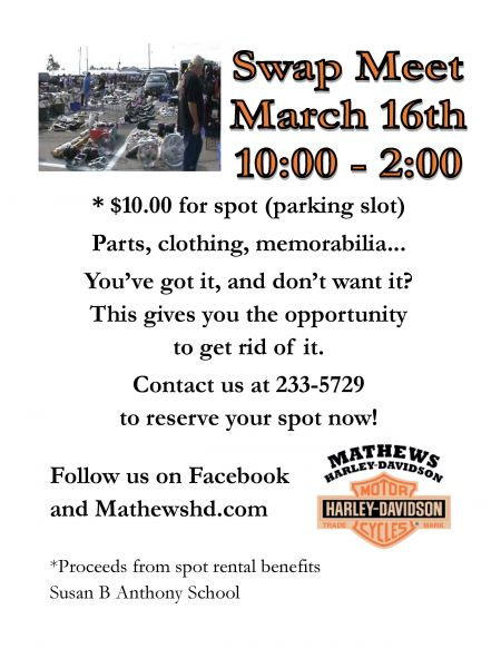 Swap Meet at Mathews HD