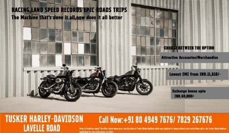 Remember December offers on Sportster™ & Softail™