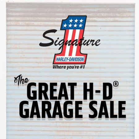 The Great H-D® Garage Sale