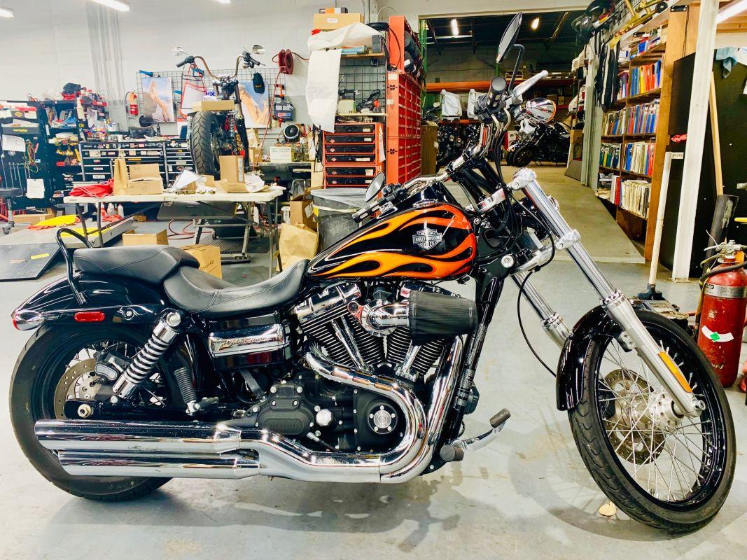 2011 Harley-Davidson® FXDWG DYNA WIDE GLIDE WAS $11999