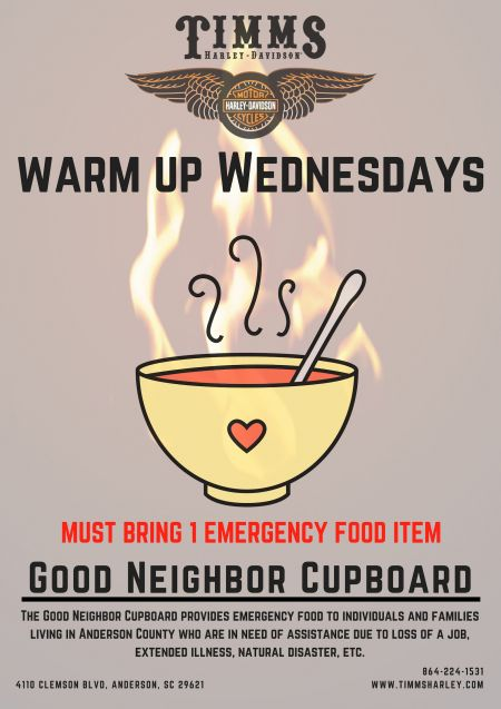 Warm Up Wednesday's