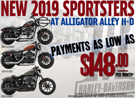 Low Payments on Sportsters!