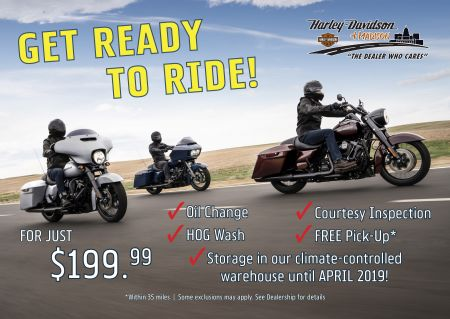 Get Ready To Ride!