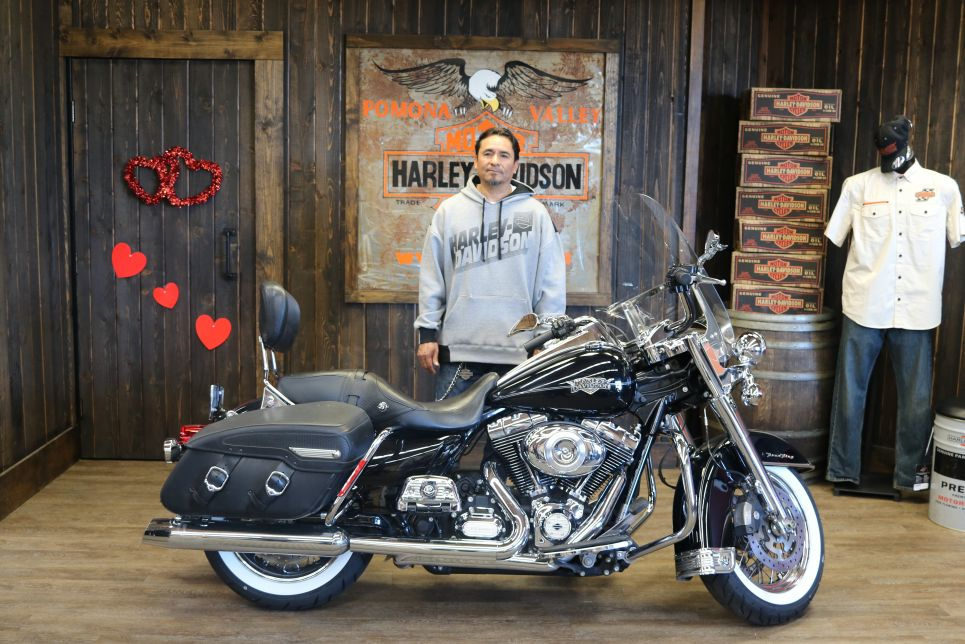 Pedros new Road King Classic!