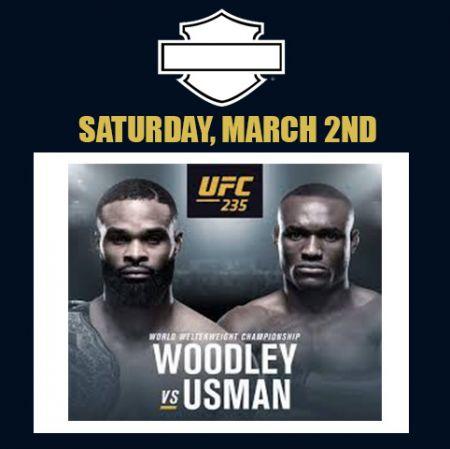 UFC 235 Fight Night!