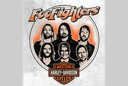 Harley-Davidson and the Foo Fighters Collaboration