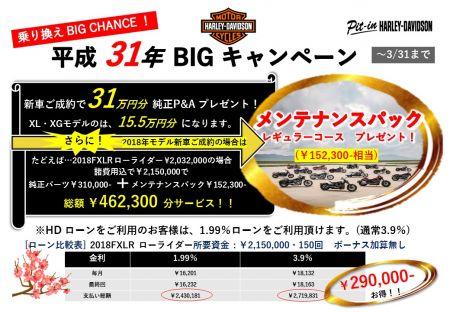 新車ご成約で31万円分の純正 P&A プレゼント!