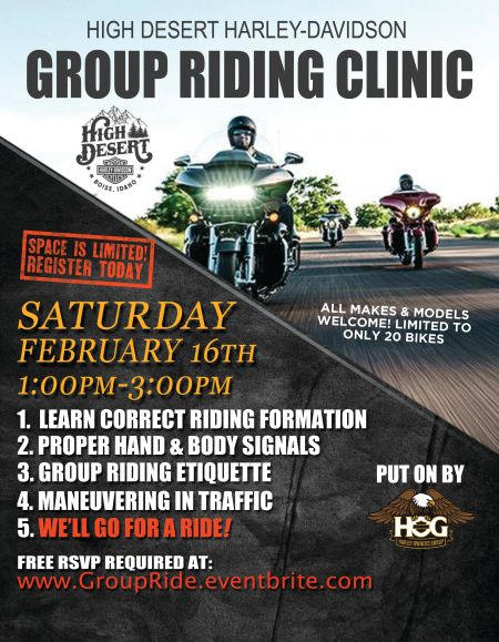 Group Riding Clinic