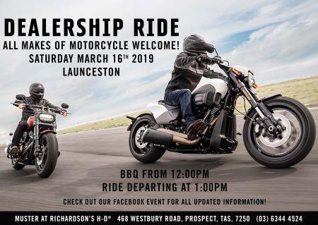 Dealership Monthly Ride #3 Launceston