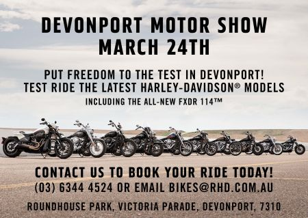 Rolling Roadshow #2 Devonport Motor Show