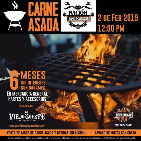 Carne Asada en Nación Harley-Davidson®