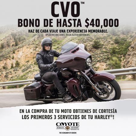 BONO DE HASTA $40,000 EN LA FAMILIA CVO