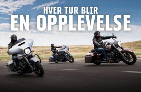 Det er Touring-måned hos Harley-Davidson Trondheim