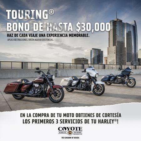 BONOS DE HASTA $30,000 EN LA FAMILIA TOURING
