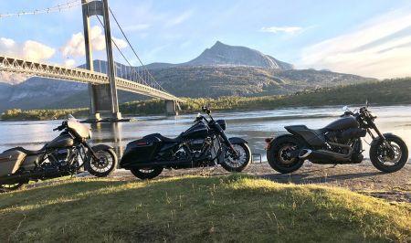 Realiser din drøm - opplev det arktiske Nord på Harley-Davidson.