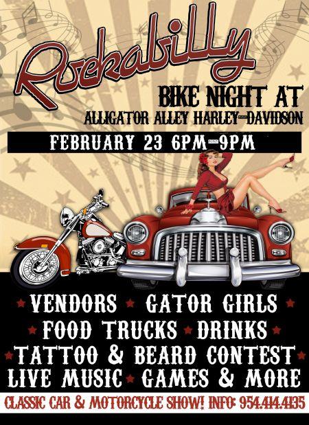 Rockabilly Bike Night