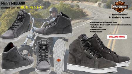 Harley-Davidson Men's Midland Footwear.