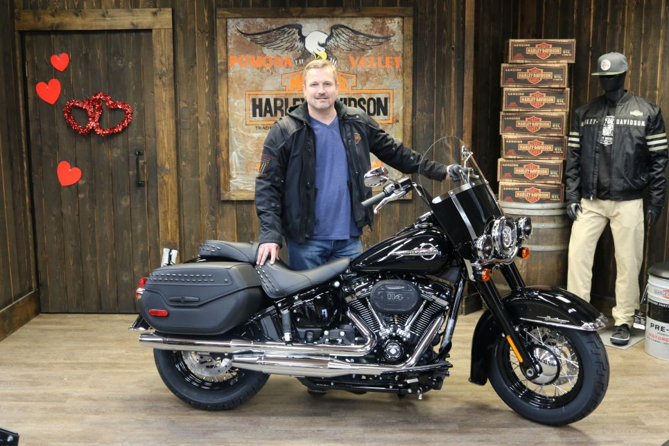 Brians new Softail Heritage Classic 114!