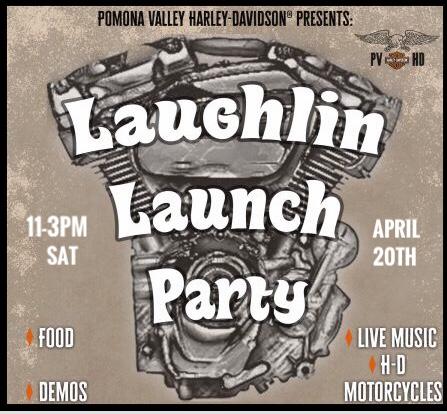LAUGHLIN PRE-PARTY! 4/20/19 11- 3pm
