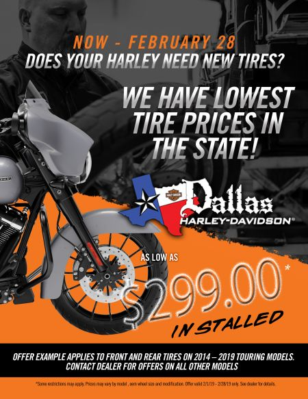 February Tire Special