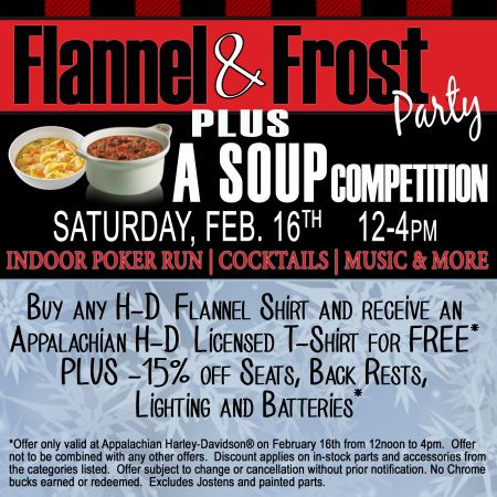 Flannel & Frost Party PLUS a Soup Competition
