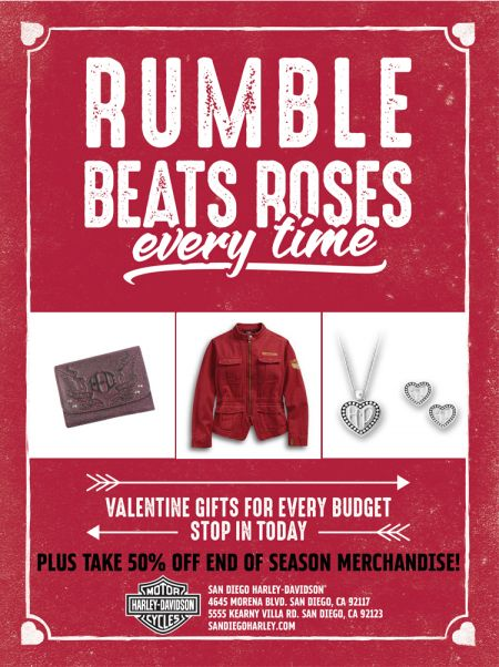 Rumble Beats Roses Sales Event!