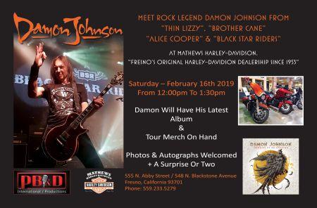 Damon Johnson Meet & Greet