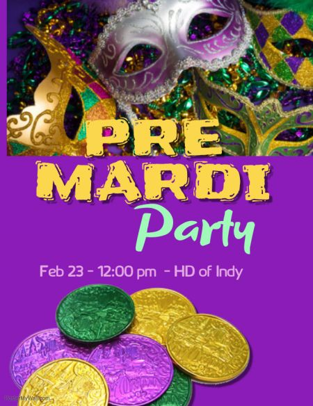 Pre Mardi Party