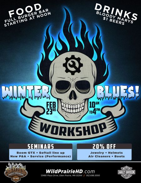 Winter Blues Workshop