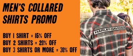 Men's H-D Collared Shirt Promotion - Clearwater Harley-Davidson