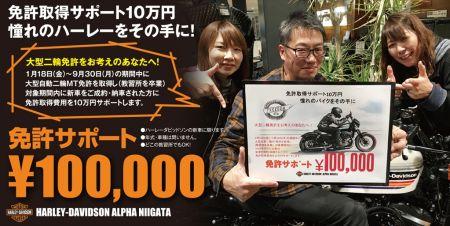 教習所を問わず免許サポート10万円キャンペーン開催中!