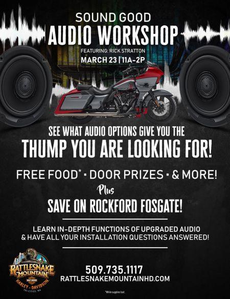 Sounds Good - Audio Workshop
