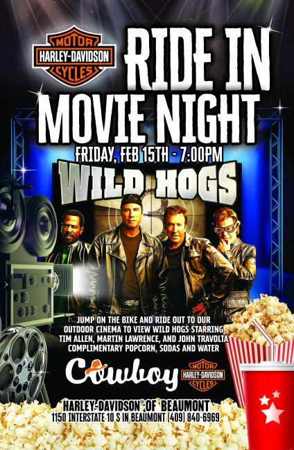 Ride In Movie Night