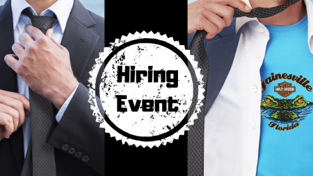 Sales Professional Hiring Event - No Tie Required!