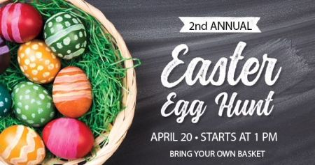 2nd Annual Easter Egg Hunt & Easter Basket Giveaway