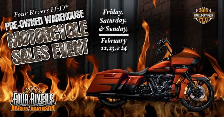 Pre-Owned Warehouse Motorcycle Sales Event