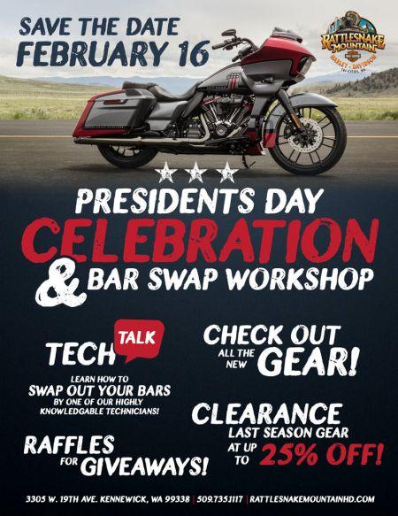 RMHD Presidents Day Celebration and Bar Swap Workshop