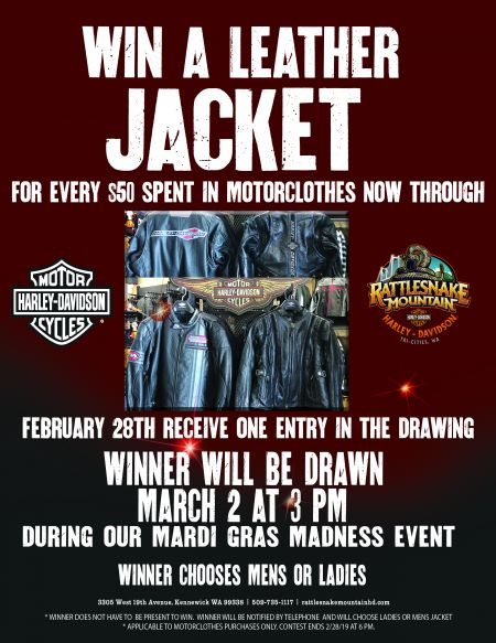 RMHD Win A Leather Jacket