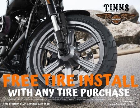 Free Tire Installation